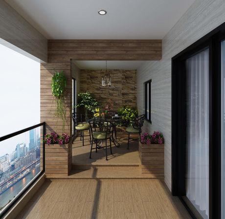 现代客厅防滑地砖贴图