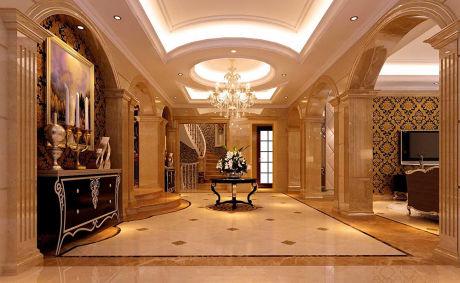 欧式风格别墅莎安娜瓷砖装修效果图