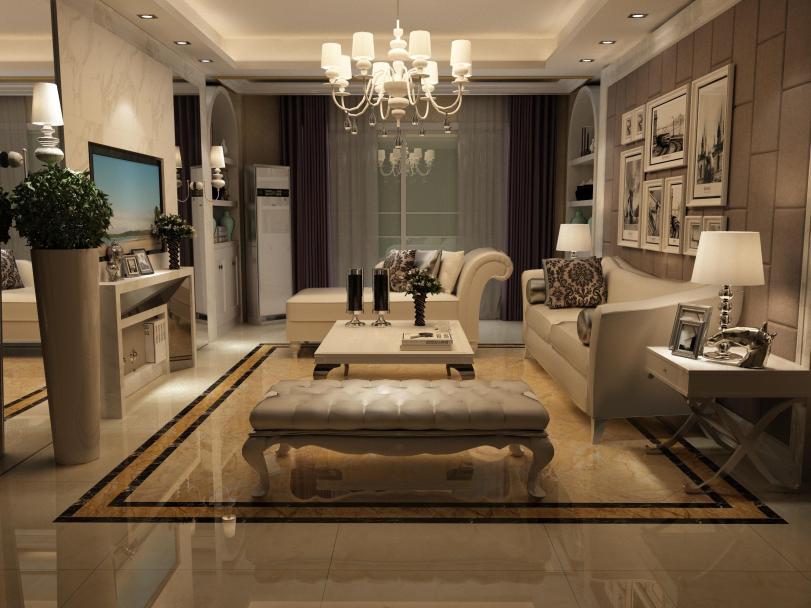 现代简约客厅装修设计