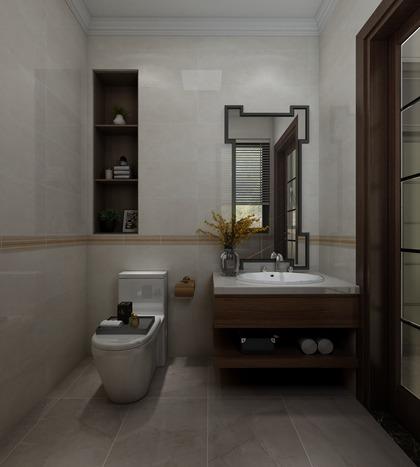 天玺和园-C1-23-新中式一层卫浴