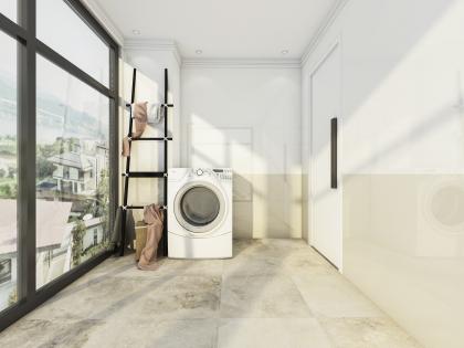 歐景藍灣4樓洗衣房