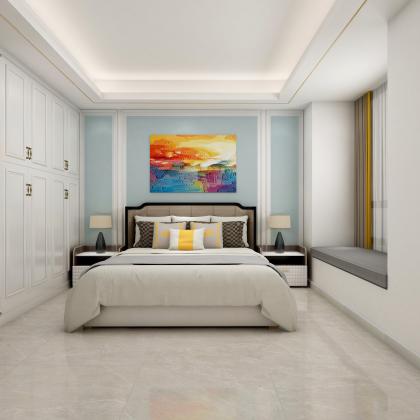 萬泰龍山水岸美式臥室