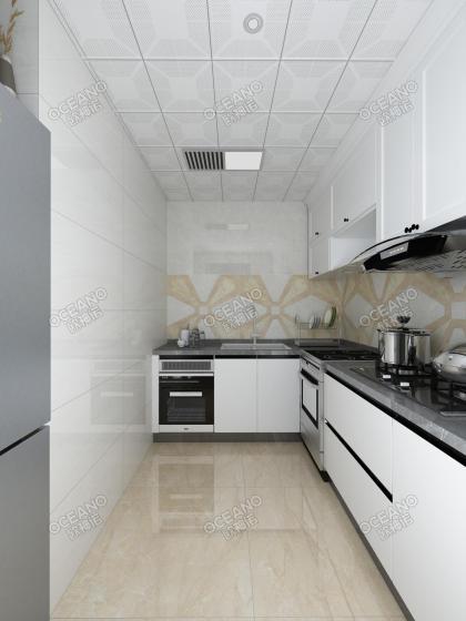 和平翰林公館平層標準層E1戶型 廚房