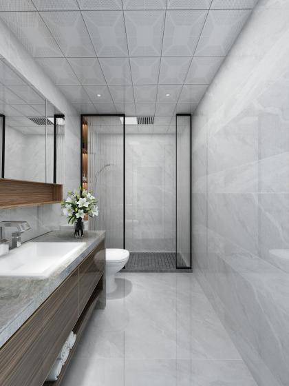 和平翰林公館平層標準層E1戶型 衛浴