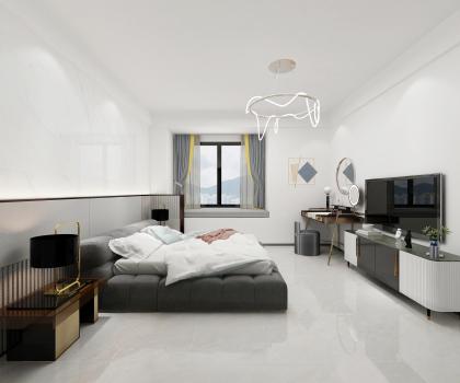 水木清華142戶型臥室