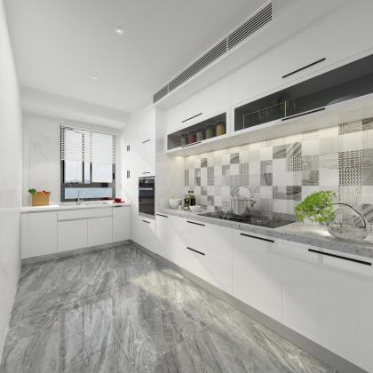 水木清華142戶型廚房