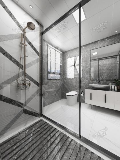 五礦萬科·哈洛小鎮125方戶型衛浴