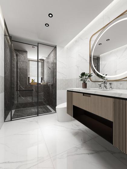 保利堂悅E1戶型衛浴
