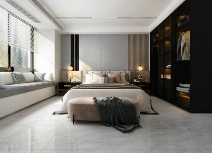 君匯·活力城130平現代臥室