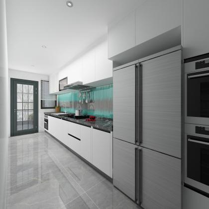 景成新城153戶型廚房